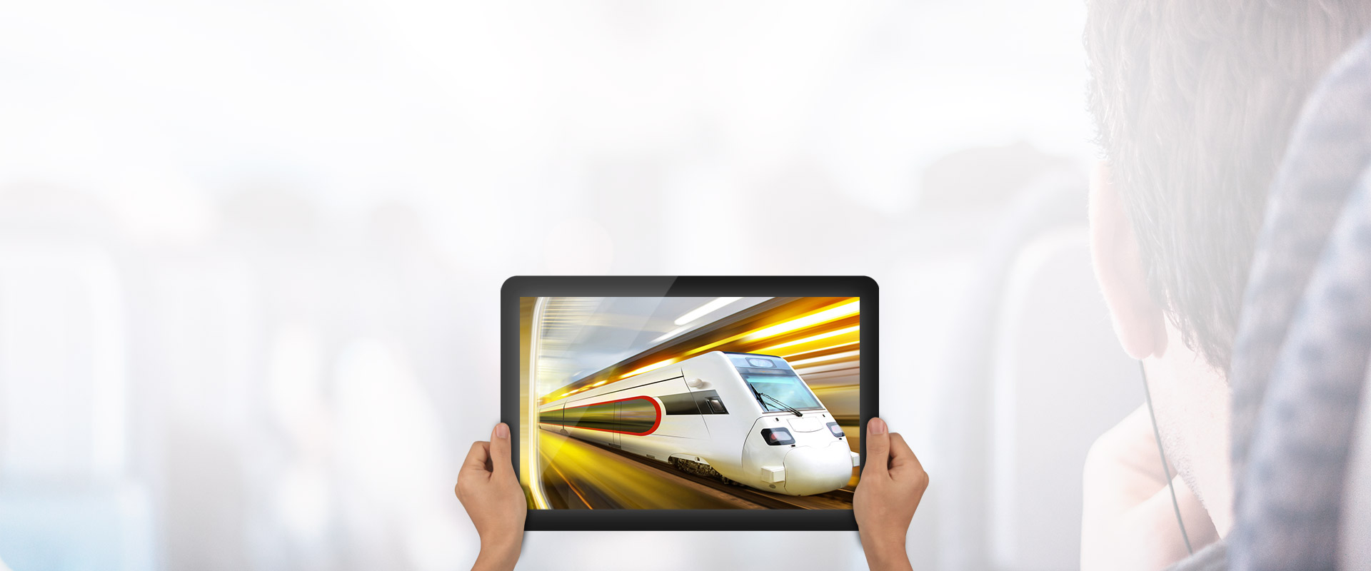 no wait/no off-line, Experience high speed train like surfing speed